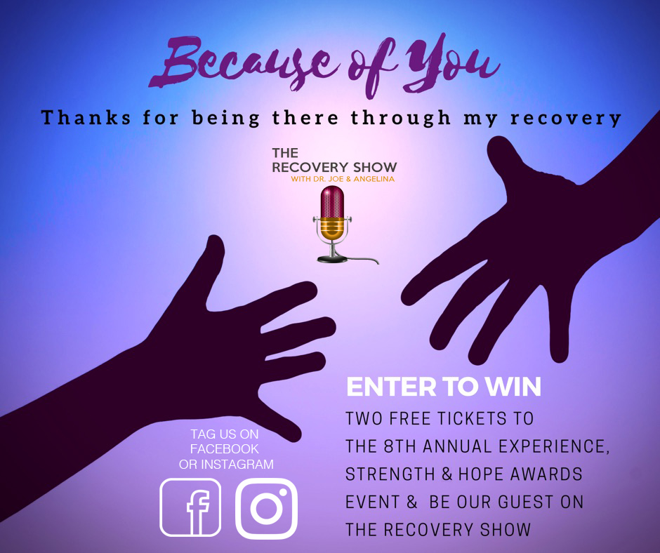 Because of You Recovery Show with Dr. Joe & Angelina Campaign
