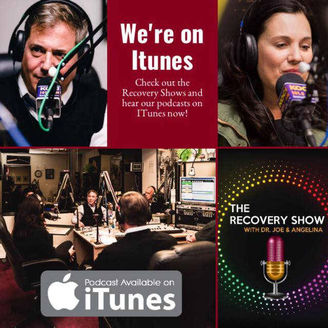 The Reccovery with Dr. Joe & Angelina on Itunes